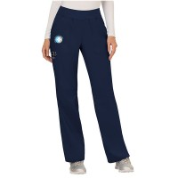 Ladies Elastic Band Scrub Pants